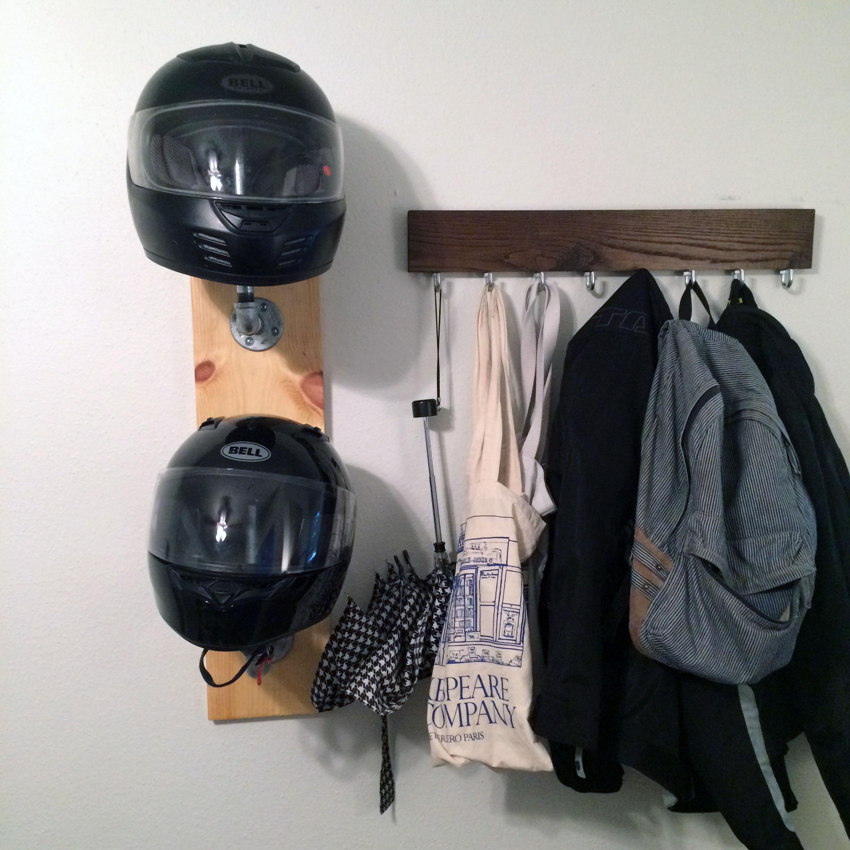 Easy Diy Helmet Rack In 30 Minutes Or Less Ridewell
