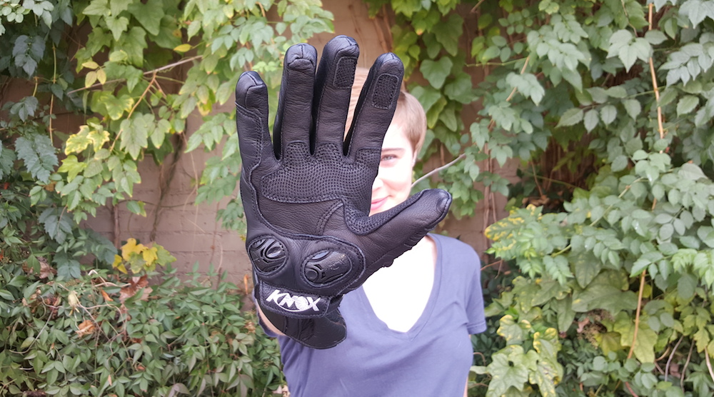 Palm Sliders - Knox Armour Gloves   Ridewell