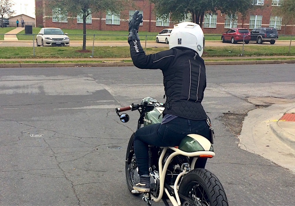 Three Reasons Every Rider Should Use Hand Signals