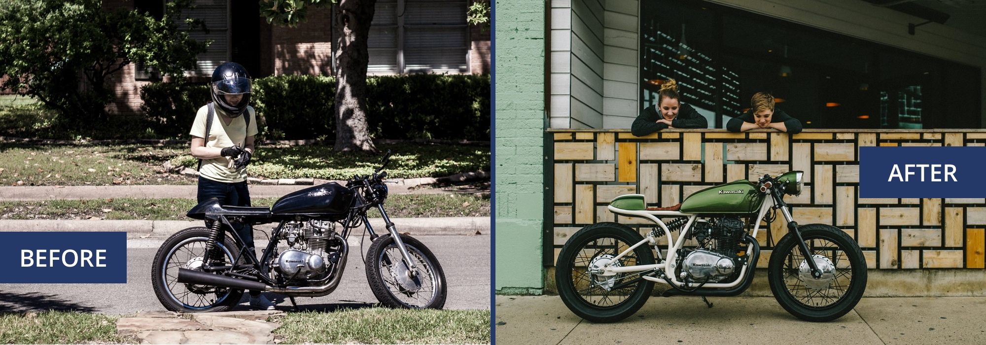 The Little Rat before & after | RIDEWELL