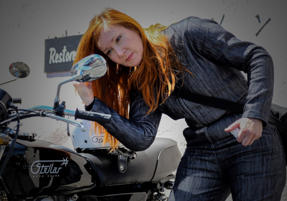 Space-Age Tech Meets Old-School Cool: An Interview with Jenna of Stellar Moto
