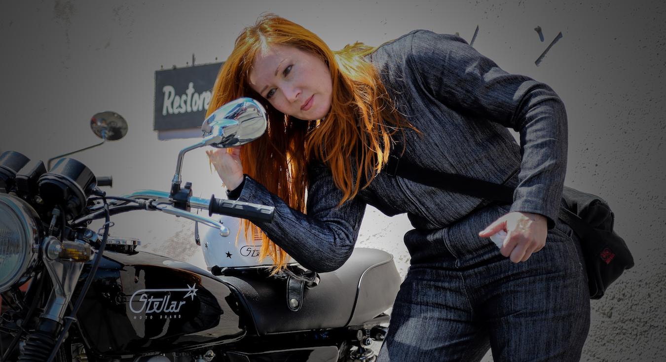 Jenna Stellar, Owner/Designer at Stellar Moto Brand | RIDEWELL