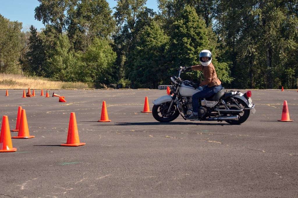 Look where you want to go | NW Moto School | RIDWELL