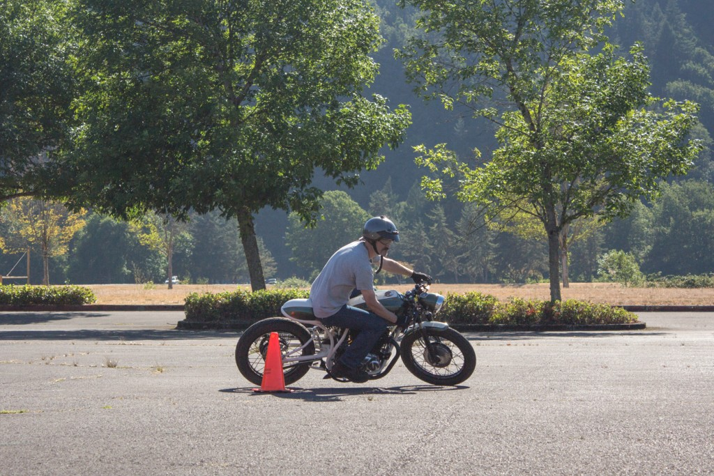 Curt of NW Moto School on The Little Rat | RIDEWELL