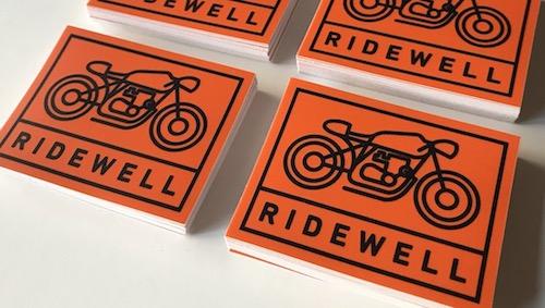 RIDEWELL Logo Stickers