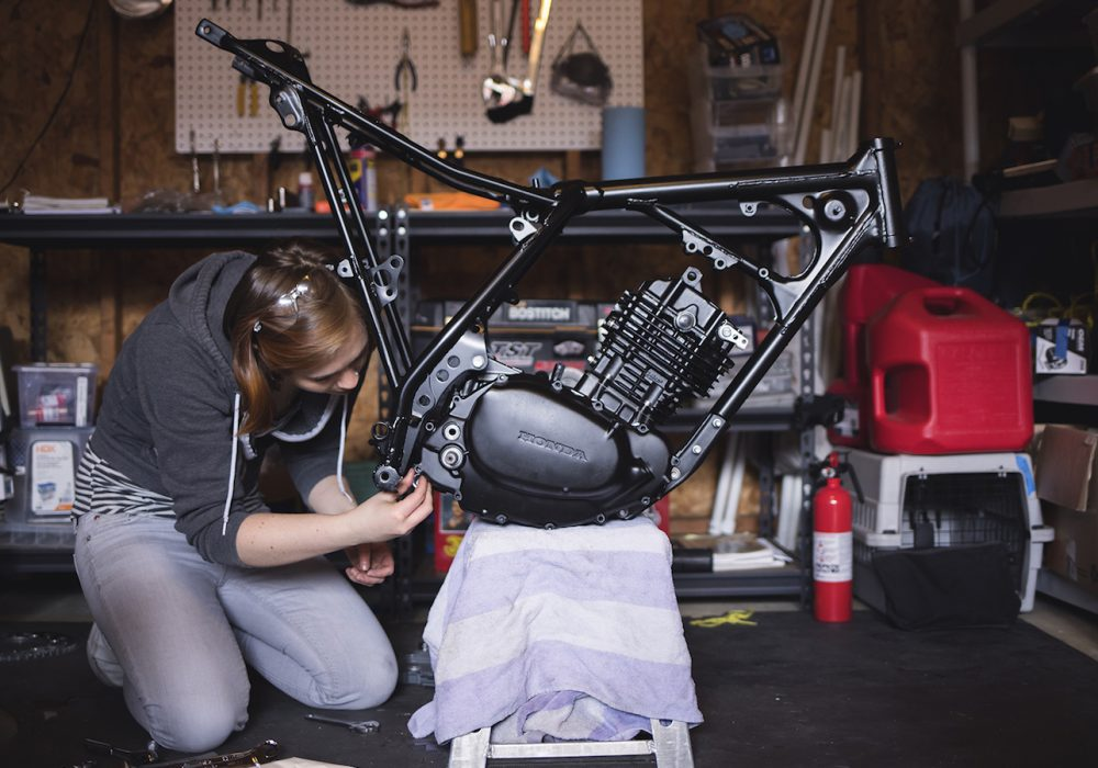 Emergence: The Motorcycle, The Mechanic
