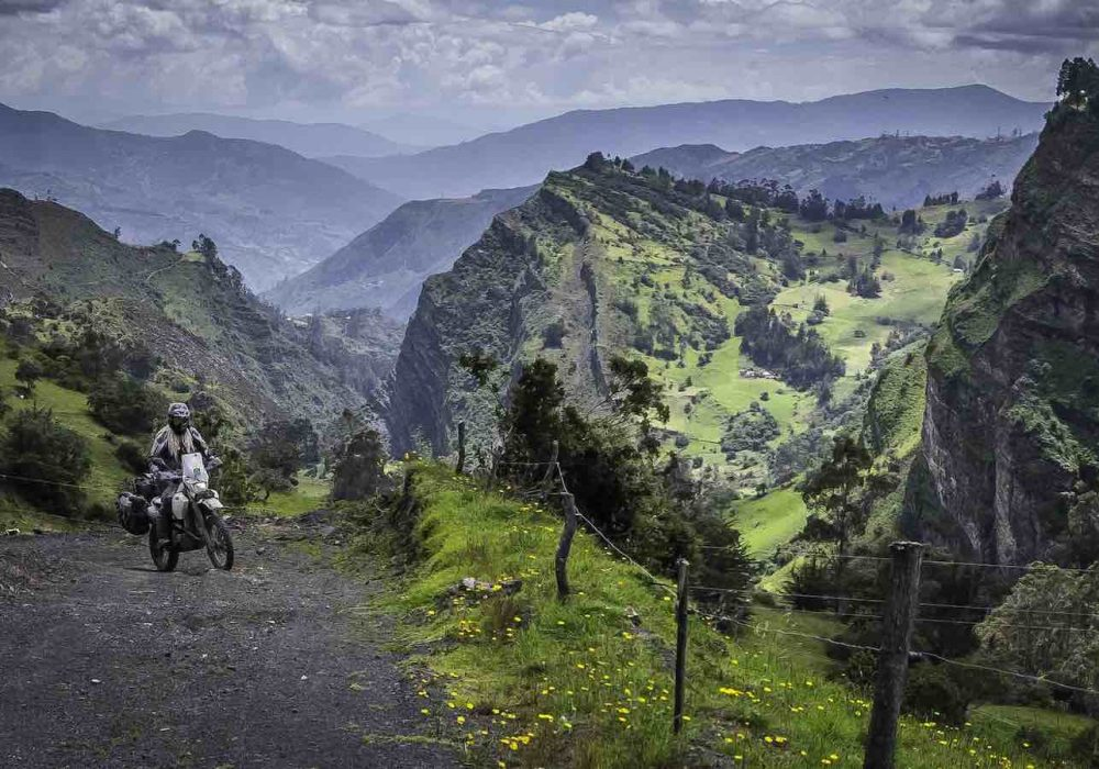 Riding Across South America with Eglė Gerulaitytė